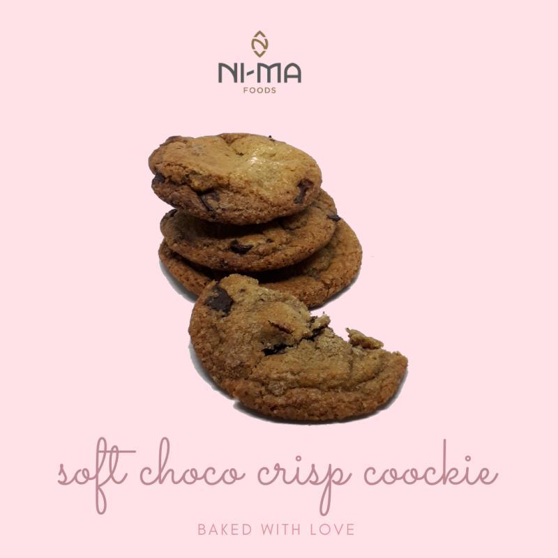 soft choco crisp cookie