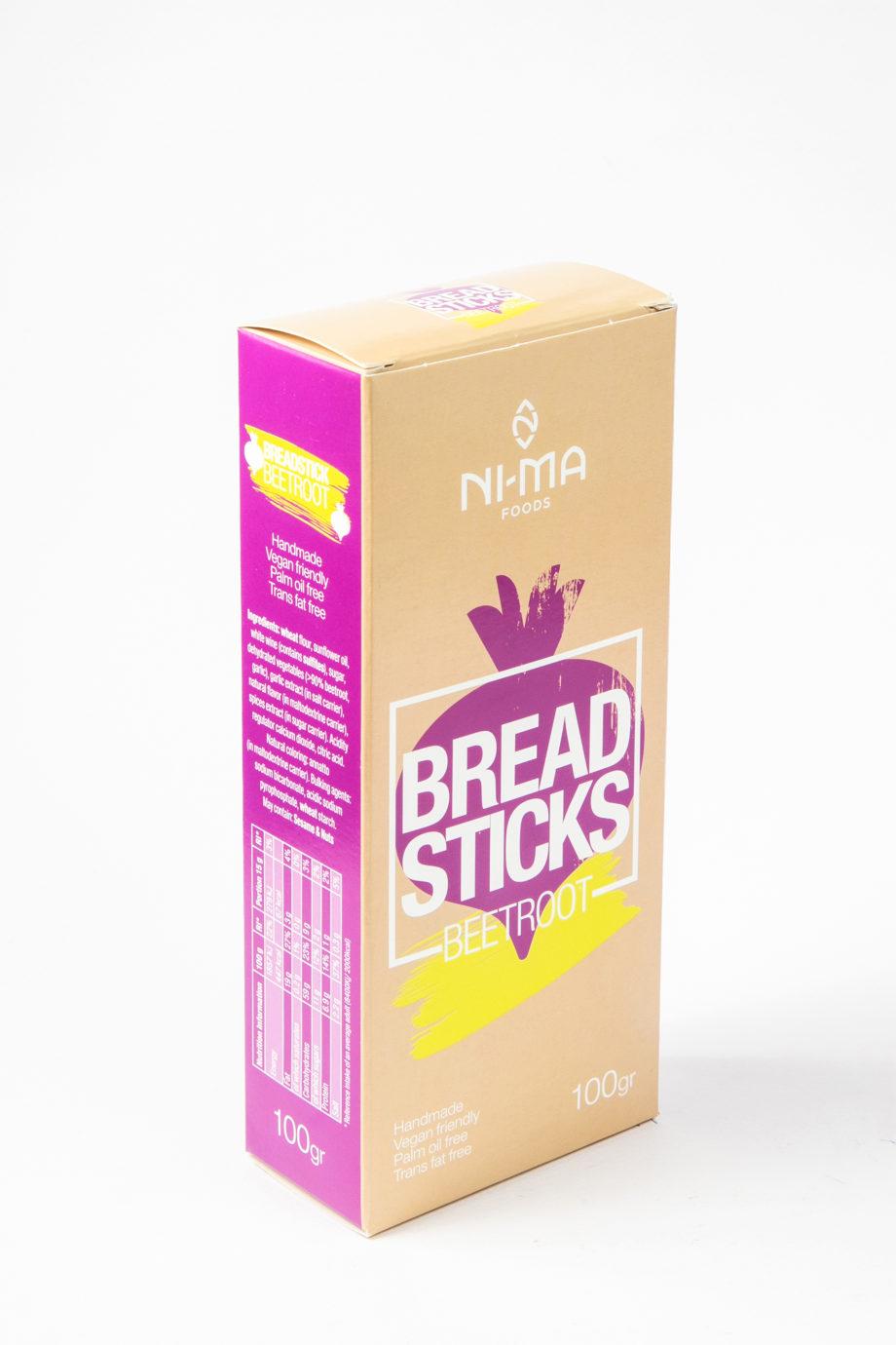 beetroot breadsticks box
