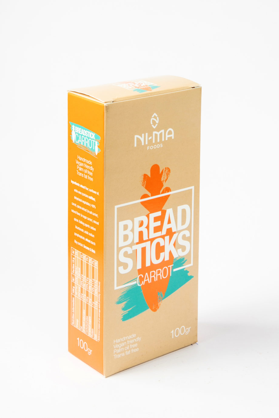 carrot breadsticks box