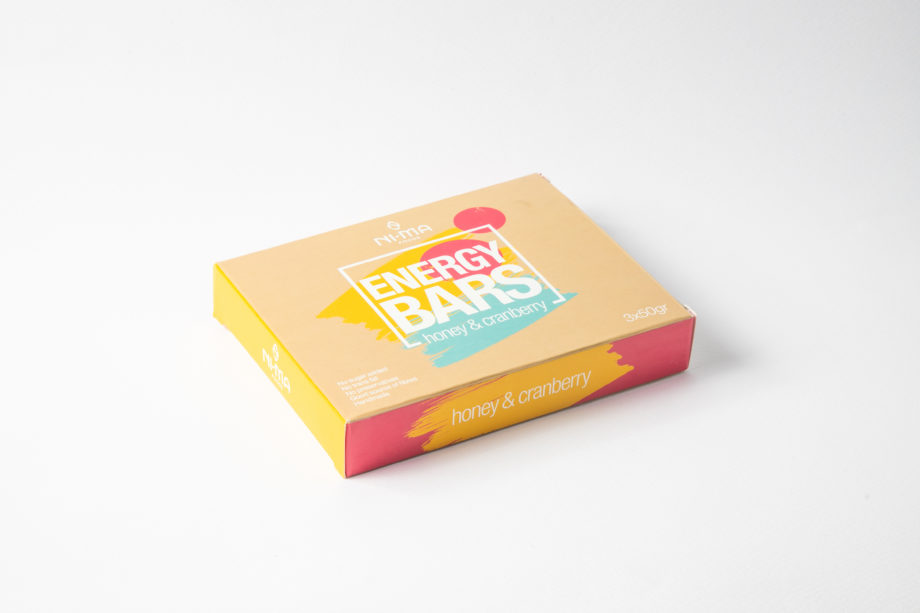 honey cranberry bars box