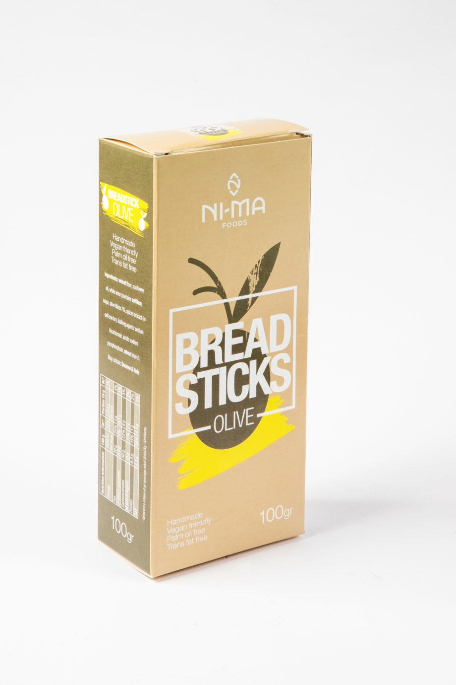olive breadsticks box