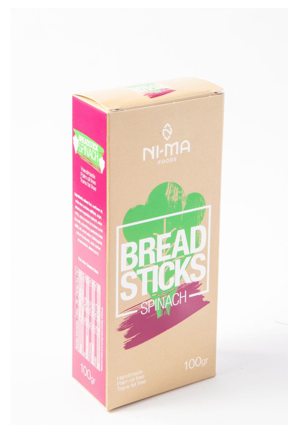 spinach breadsticks box