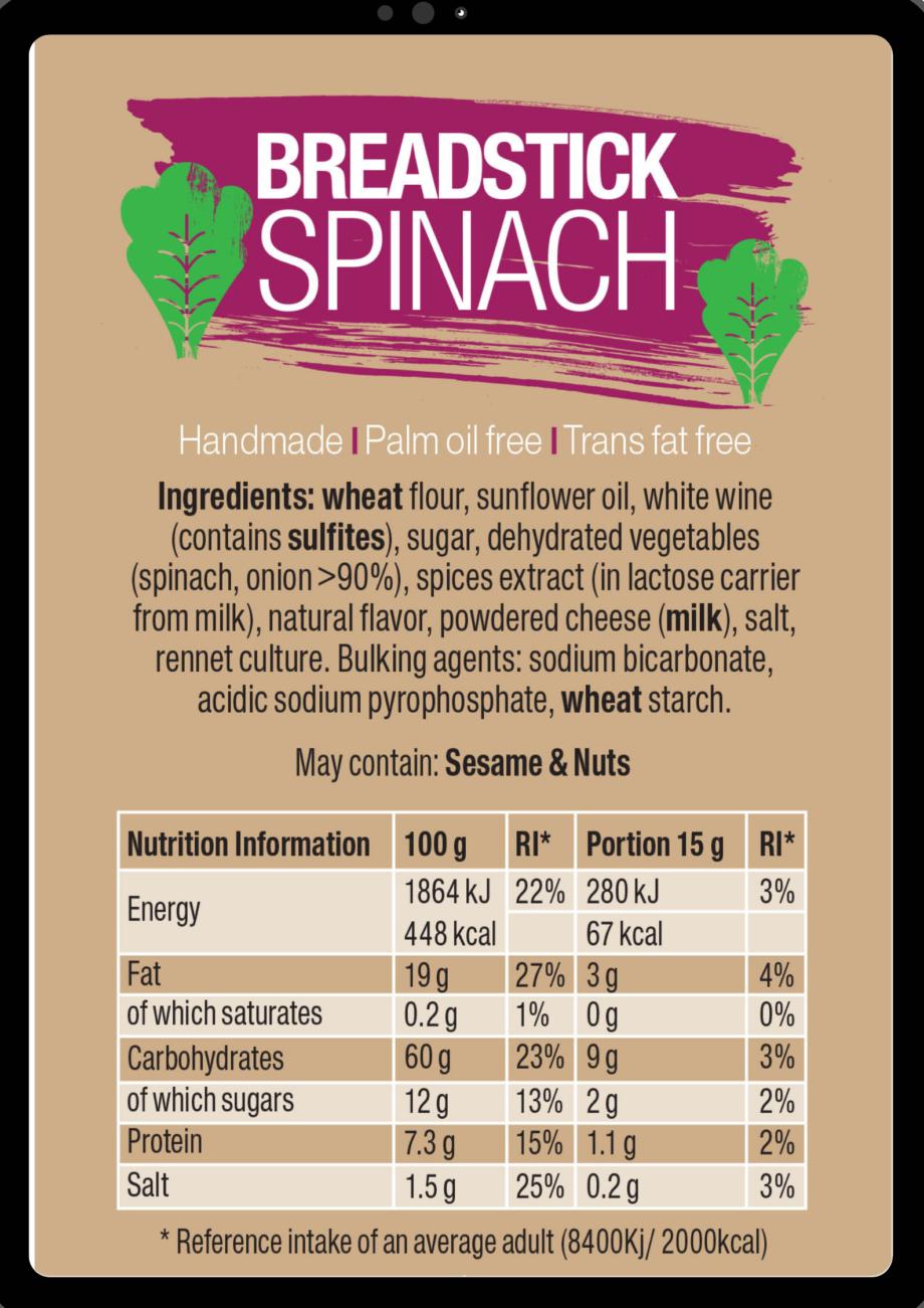spinach ingredients