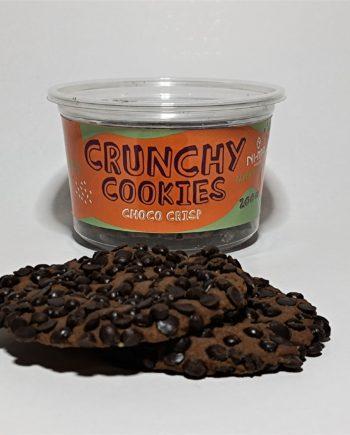 choco crisp cookies in pet package 200g